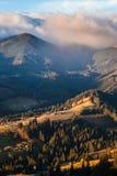 stormigt väder för berg Royaltyfria Bilder