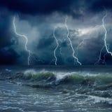 Stormigt väder Arkivbild