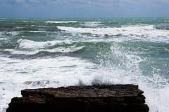 Stormkust av medelhavet av Spanien Royaltyfria Foton