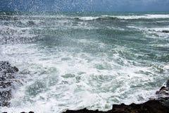 Stormkust av medelhavet av Spanien Royaltyfri Foto