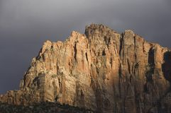 Stormlight, Zion. Imagens de Stock Royalty Free