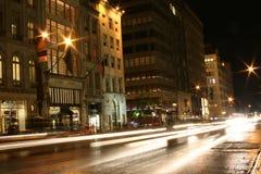 Stormloop bij NYC Royalty-vrije Stock Afbeeldingen