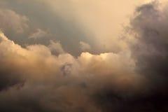 Stormmoln royaltyfri fotografi