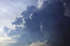 Stormmoln Royaltyfri Bild