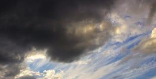 Stormmoln 001 Arkivfoto