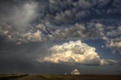 Stormmoln Saskatchewan Arkivfoton