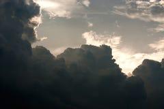 Stormmolnet Fotografering för Bildbyråer