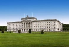 Stormont - costruzione di governo dell'Irlanda del Nord Immagini Stock Libere da Diritti