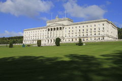 Stormont Northern Ireland. The Northern Ireland Assemble Parliament Buildings, Stormont, Belfast Royalty Free Stock Photos