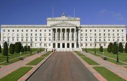 Stormont Parlaments-Gebäude stockfotografie