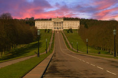 Stormont Parliament Building Royalty Free Stock Photos