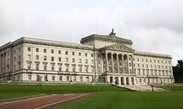 Stormont seat of Government Northern Ireland. Stormont building is the seat of Government in Northern Ireland for the power sharing Executive Royalty Free Stock Images