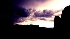 Storms edge stock image