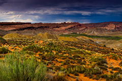 Storms Over Arches National Park Stock Images
