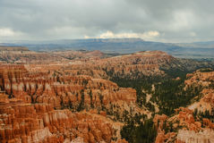 Storms over Bryce Canyon Hoodoos Royalty Free Stock Photo