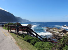 Storms river mouth. Storm river mouth Royalty Free Stock Image