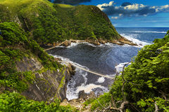 Storms River Mouth, Tsitsikamma National Park Stock Photo