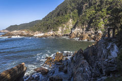 Storms River Mouth in Tsitsikamma National Park, South Africa Royalty Free Stock Photo