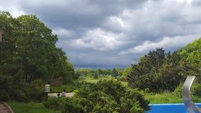 Stormsammankomst Arkivbilder