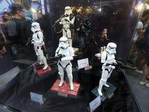 Stormtrooper żołnierz w Com Hong Kong & grach Fotografia Stock