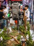 Stormtrooper żołnierz w Com Hong Kong & grach Obraz Royalty Free