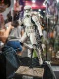 Stormtrooper żołnierz w Com Hong Kong & grach Obrazy Stock