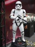 Stormtrooper żołnierz w Zabawkarskiej duszie 2015 Obraz Stock