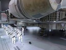 Stormtrooper postać w Com Hong Kong 2015 & grach Fotografia Royalty Free