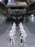 Stormtrooper postać w Com Hong Kong 2015 & grach Zdjęcia Royalty Free
