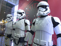 Stormtrooper soldier in Ani-Com & Games Hong Kong Royalty Free Stock Images