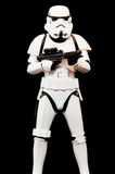 Stormtrooper soldier Stock Photography