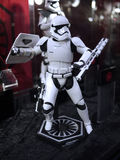 Stormtrooper soldier in Toy Soul 2015 Stock Image