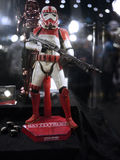 Stormtrooper soldier in Toy Soul 2015 Stock Photos