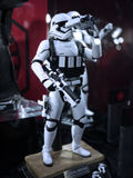 Stormtrooper soldier in Toy Soul 2015 Royalty Free Stock Images