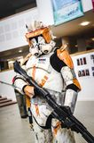 Stormtrooper from Star Wars cosplay Royalty Free Stock Photography