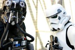 Stormtroopers Звездных войн стоковые изображения