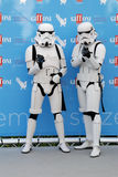 Stormtroopers al Giffoni Film Festival 2015 Stock Photography