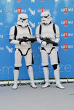 Stormtroopers al Giffoni Film Festival 2015 Royalty Free Stock Images