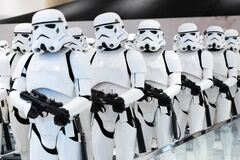 Free Stormtroopers From Star Wars Soldiers. Royalty Free Stock Photography - 188320757
