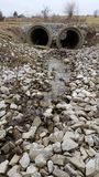 Stormwater: Creek in the Country Royalty Free Stock Photos
