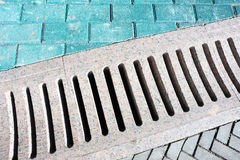 Stormwater drainage  Royalty Free Stock Images
