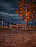 Stormy afternoon. A stormy autumn afternoon background Royalty Free Stock Images