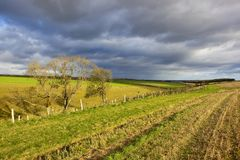 Stormy autumn skies Royalty Free Stock Images