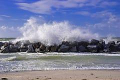 Stormy Baltic Sea Stock Photo