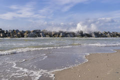 Stormy Baltic Sea Royalty Free Stock Image