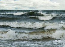Stormy Baltic sea. Stock Images