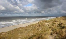 Stormy Belgian Coast Royalty Free Stock Images