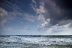 Stormy Black Sea Stock Photography