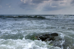 Stormy Black Sea Stock Photo