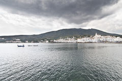 Stormy Cadaques Stock Photo